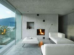 Beautiful and Calm House in Brione S.M. by Wespi de Meuron Romeo Architects | Wave Avenue