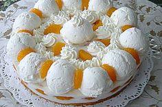 Schneeball Torte