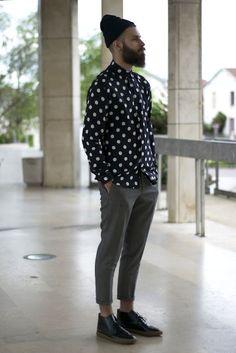 Macho Moda - Blog de Moda Masculina: Touca Masculina com Borda Dobrada, dicas para usar