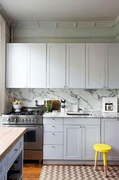 another great white kitchen!