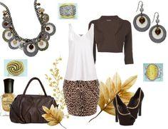 """Bottega"" necklace and earrings. ""Gold Globe"" ring ""Nostalgia"" ring. and ""Trendsetter"" ring."