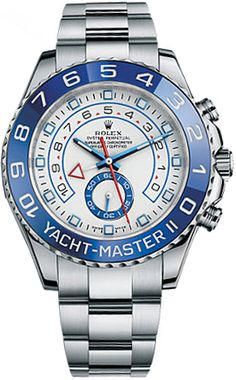 Rolex Yacht Master II for Men 116680 Chronograph Feature Stainless Steel Discounted Timepiece