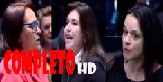 Janaina Paschoal e Simone Tebet respondem à Fátima Bezerra. -  HD COMPLETO