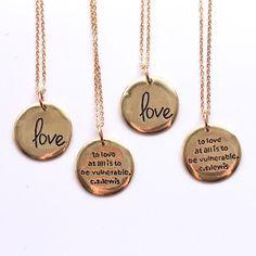 TWLOHA Love necklace by Lovishly