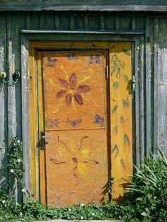 Door Entryway, Entrance Doors, Doorway, Old Doors, Windows And Doors, Gates, Building A Door, Door Knobs And Knockers, When One Door Closes