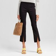 Split Front Crop Pants - Who What Wear : Target