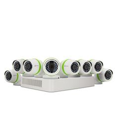 EZVIZ FULL HD 1080p Outdoor Surveillance System, 8 Weatherproof HD Security Cameras