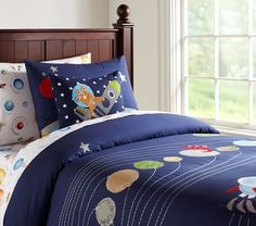 Pottery Barn Kids - Solar System Bed Set