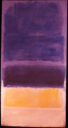 "dailyrothko: "" Mark Rothko, untitled, 1950 """