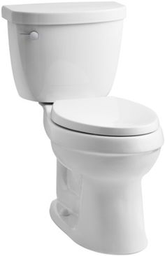 This WaterSense-labeled high-efficiency toilet combines water conservation with the versatile style of the Cimarron collection. A 1.28-gallon flush provides significant...