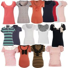 Rachel Berry tees. She's the perfect mix of vintage and prep.