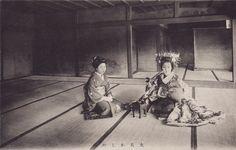Tayuu with a sake cup by noel43, via Flickr