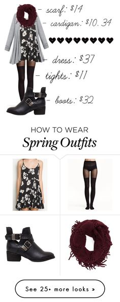 """""""cute jada dress outfit"""" by tannaleah on Polyvore featuring H&M"""