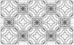 Blackwork Fill Pattern