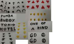 Fun Nail art stickers - http://www.funhunter.com/fun-nail-art-stickers.html