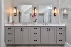 Naperville Master Bathroom Remodeling Project - Sebring Design Build
