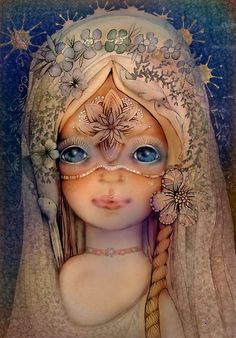 """""""The Selkie Princess"""" by Karin Taylor."""