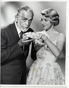 Boris Karloff Lux Show with Rosemary Clooney.1957....Uploaded By www.1stand2ndtimearound.etsy.com