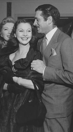 Vivien Leigh and Laurence Olivier by pam