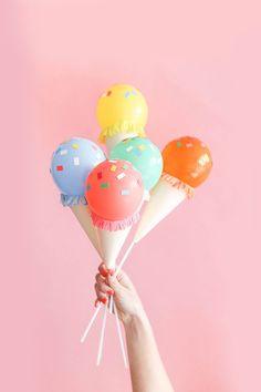 Throw the Cutest Ice Cream Social Ever | lovelyindeed.com