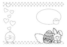 Easter basket template! FREE! | KindergartenKlub.com | Pinterest ...