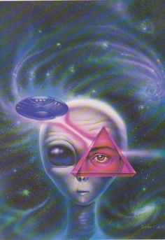 UFO: Pyr-Eye - Art by Boros Attila