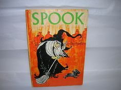 Vintage Halloween Book ~ Spook by Jane Little ©1967