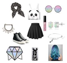 """""""How cute is this...."""" by lasaraleen ❤ liked on Polyvore featuring Converse, Vanessa Mooney, Alex and Ani, Glitzy Rocks, Sunday Somewhere, OTM Essentials, Bobbi Brown Cosmetics, Hot Topic and Trying"""