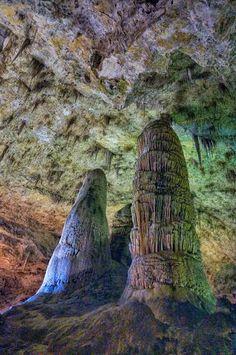 Carlsbad Caverns National Park. Carlsbad, New Mexico.