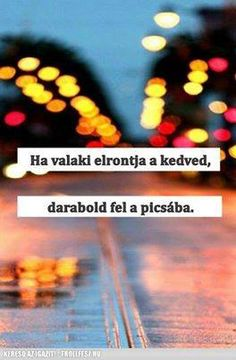 ha valaki elrontja a kedved, darabold fel a picsába Smiley, I Laughed, Ecards, Everything, Quotations, Psychology, Haha, Sayings, Memes