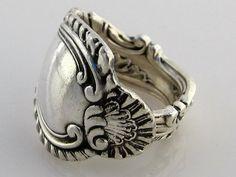 Vintage Teaspoon Ring