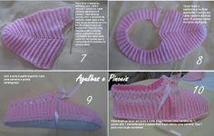 Aguja y Pincel: Zapatillas