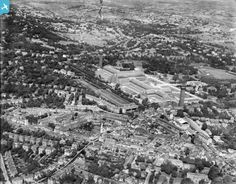 Crystal Palace and environs, Norwood New Town, from the south-west, 1928