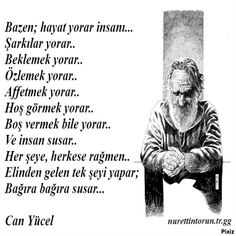 life is tired . Can Yücel - Liesel Palitzsch Best Quotes, Love Quotes, Muslim Pray, Good Sentences, Whatsapp Message, Story Video, Poetry Books, Favorite Words, Meaningful Words