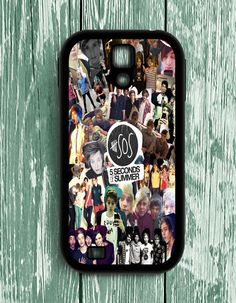5 Second Of Summer Collage Band Music Samsung Galaxy S4   Samsung S4 Case