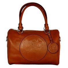 Tucker Tweed Equestrian Normandy Satchel Handbag