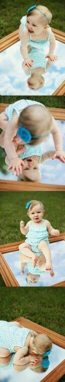 Bebé aire libre
