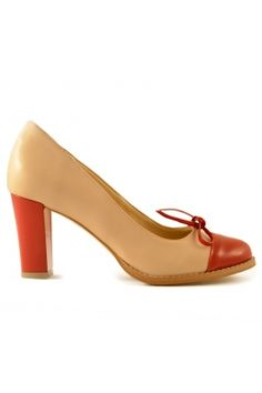 Pantofi Mopiel din piele naturala si piele lacuita Mall, Kitten Heels, Pumps, Shoes, Fashion, Moda, Zapatos, Shoes Outlet, Fashion Styles