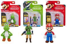 Mario, Link & Yoshi figure