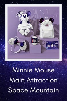 Minnie Mouse Main Attraction – January – Space Mountain – Lizzie In Adventureland Disney Vacation Club, Disney Vacations, Disney Trips, Disney Travel, Cute Disney, Disney Cars, Disney Style, Walt Disney, Minnie Mouse