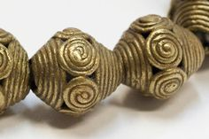Ghana, Bronze, Ivoire, Beads, Accessories, African Beads, African Jewelry, People, Ethnic