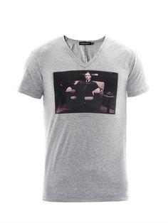 Al Pacino Godfather print T-shirt | Dolce & Gabbana