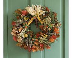 Pretty Autumn Wreath :)