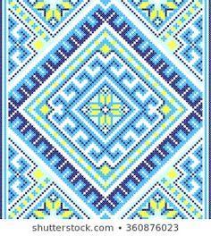 embroidered good like handmade cross-stitch ethnic Ukraine pattern Embroidery Sampler, Folk Embroidery, Embroidery Fashion, Embroidery Designs, Folk Fashion, Diy Fashion, Bordado Popular, Ethnic Patterns, Cross Stitch Patterns