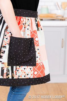 Whip up a customized apron for your messy days in the kitchen!