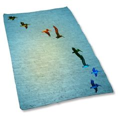 Uneekee Pelicans Area Rug Medium -- Check this awesome product by going to the link at the image.