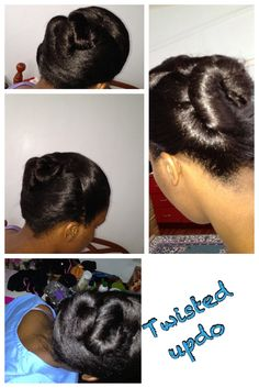 #hairstyle #relaxedhair #protectivestyle