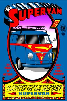 Super-Heroes Mashed Up With Volkswagen Vans For Reasons We Do Not Understand - ComicsAlliance | Comic book culture, news, humor, commentary, and reviews