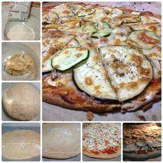 Masa Pizza Integral, Sin Gluten, Gluten Free, Real Food Recipes, Healthy Recipes, Healthy Food, Fodmap, Fajitas, Vegetable Pizza
