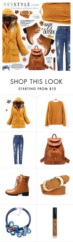 """Yesstyle OUTERWEAR"" by katjuncica ❤ liked on Polyvore featuring JVL, Flore, BeiBaoBao, Pastel Pairs, Winter, outerwear and yesstyle"